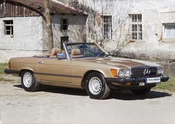 Mercedes-Benz SL 380 - gold